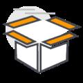 Icono Almacenamiento y administración de inventarios